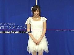 Subtitled Japanese Miki Sunohara epic sex party striptease