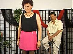 sad german mature has to suck cock