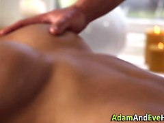 juggs babe bang masseur