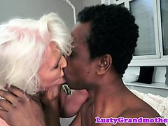 busty european granny fucked interracially
