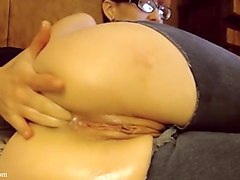 AdalynnX - Anal Jeans Ass To Mouth