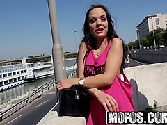 mofos - public pick ups - forest sex with hot hungarian star
