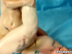 wrestling bbw plowed after winning catfight