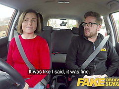 fake driving school jealous learner wants hard fucking