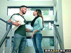 brazzers - baby got boobs -  air blow n bang scene starring