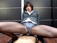 Horny Japanese model Shinobu Kasagi in Amazing POV, Fetish JAV scene
