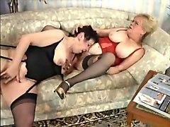 Fabulous Stockings, Lesbian xxx scene