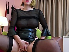 cum for german nylon queen anett larmann