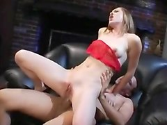 Petite Brunette Likes Rough Anal Sex
