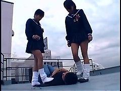 japanese femdom gang