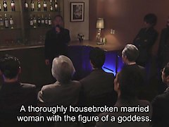 Subtitled Japanese Kurea Hasumi wife ### auction stripping
